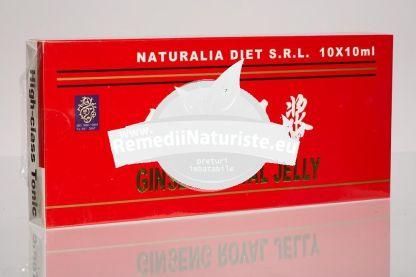 ROYAL JELLY & GINSENG 10fiole NATURALIA DIET Tratament naturist anemie hepatita insomnie intarirea rezistentei organismului