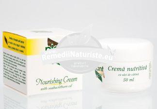 CREMA NUTRITIVA 50ml borcan ETERA PROD Tratament naturist nutritiva revigoranta
