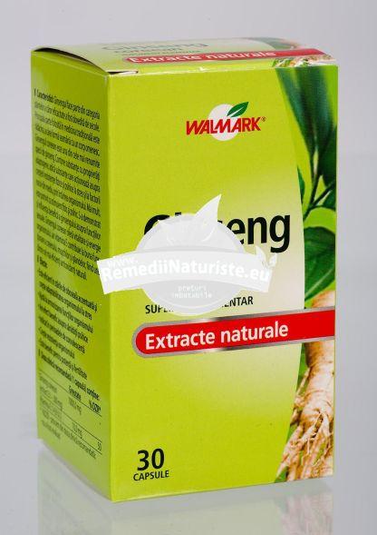 GINSENG COREAN 30tb WALMARK Tratament naturist stari de oboseala stres convalescenta potenta si fertilitate