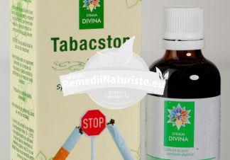 TINCTURA TABAC STOP 50ml SANTO RAPHAEL Tratament naturist produce aversiune si intoleranta fata de fumat pentru persoanele care doresc sa renunte la fumat stari de nelinistite frustare