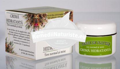 CREMA HIDRATANTA TEN NORMAL SI MIXT 50ml MANICOS Tratament naturist protejeaza si hidrateaza pielea protejeaza hidrateaza