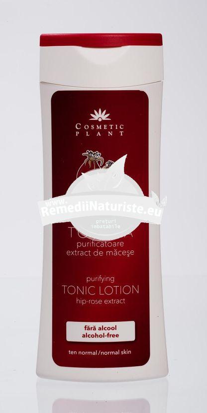 LOTIUNE TONICA MACESE 200ml COSMETIC PLANT Tratament naturist curatirea tenului astrigent purifica tonifica