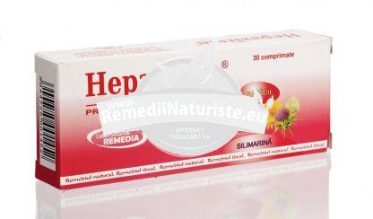 HEPAXIREM 30cps REMEDIA Tratament naturist favorizeaza digestia regenerarea celulelor hepatice lezate digestia formarea calculilor biliari