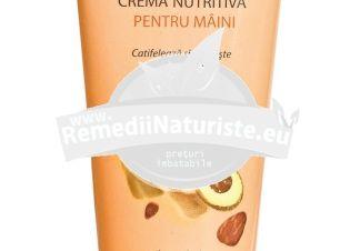 CREMA NUTRITIVA PENTRU MAINI 100ml - TUB ELMIPLANT Tratament naturist emolienta hidratanta protectoare regenereaza