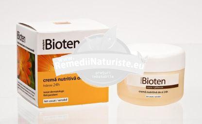 CREMA NUTRITIVA DE ZI BIOTEN TUS 50ML ELMIPLANT Tratament naturist crema ingrijitea tenului uscat si sensibil regenereaza si tonifiaza tenul uscat