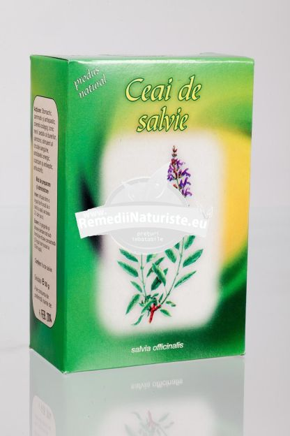 CEAI SALVIE 50gr STEFMAR Tratament naturist diabet dischinezie biliara stomahic carminativ