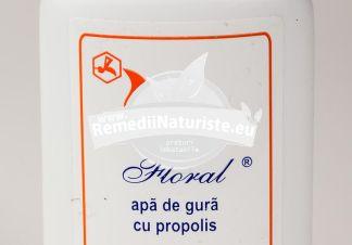 APA DE GURA CU PROPOLIS FLORAL 70ml COMPLEX APICOL Tratament naturist antiseptica cicatrizanta stomatita gingivita