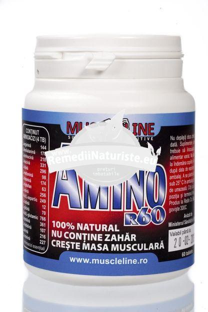 AMINO R 60tb REDIS Tratament naturist mentinerea fibrei musculare fara depuneri de grasimi suplimente fitness suplimente culturism