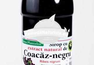 SIROP COACAZ NEGRU 500ml HYPERICUM Tratament naturist imbunatateste circulatia periferica antioxidant tonic general vitaminizant