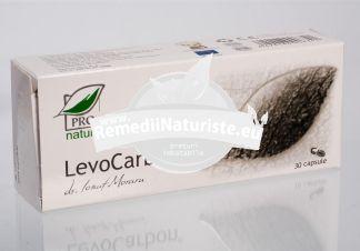 LEVOCARBON 30cps blister MEDICA Tratament naturist dereglari de tranzit intestinal colon iritabil tranzit intestinal balonare