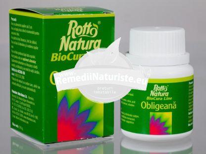 OBLIGEANA 30cps ROTTA NATURA Tratament naturist insomnie isterie epilepsie ulcer gastric si duodenal