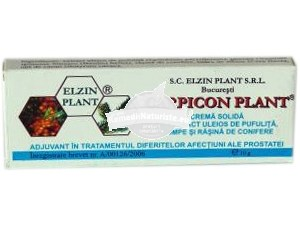 CARPICON PLANT SUPOZITOARE 10 x1g ELZIN PLANT Tratament naturist afectiuni ale prostatei fisuri anale leziuni cicatrizant