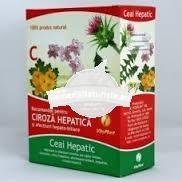 CEAI HEPATIC(CIROZA HEPATICA) 100g VITAPLANT Tratament naturist adjuvant in afectiuni cronice ale ficatului afectiuni cronice ale cailor biliare calculoze colici hepatice