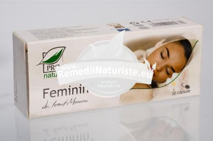 FEMININ 30cps blister MEDICA Tratament naturist cresterea performantelor sexuale crestere performantelor sexuale