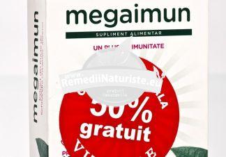 MEGA IMUN 30CPS PROMO 50% VITA CARE Tratament naturist combate deteriorarea prematura a celulelor imunitate antioxidant stres oxidativ