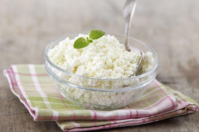 queijo-cottage As 10 melhores fontes de proteínas