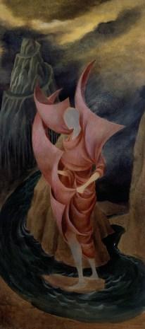 Ascensión al Monte Análogo (Dibujo Previo II), 1960.