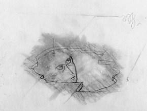 Luz Emergente (Dibujo Previo), 1962.