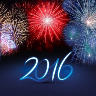 New Year 2016 Fireworks