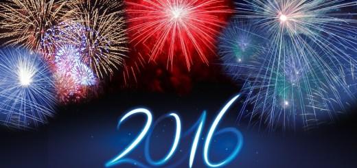 New Year 2016 Fireworks