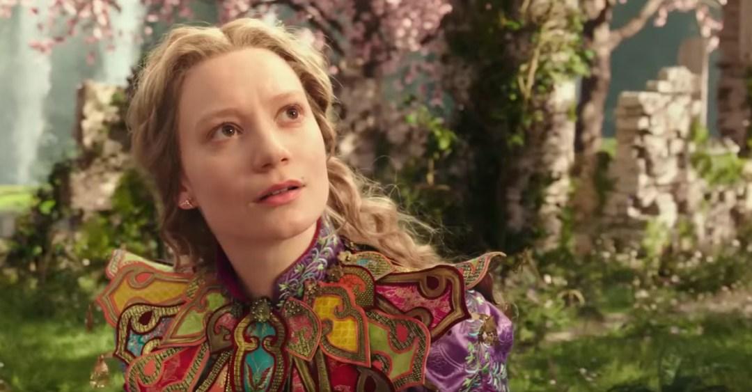 Atriz Mia Wasikowska em Alice