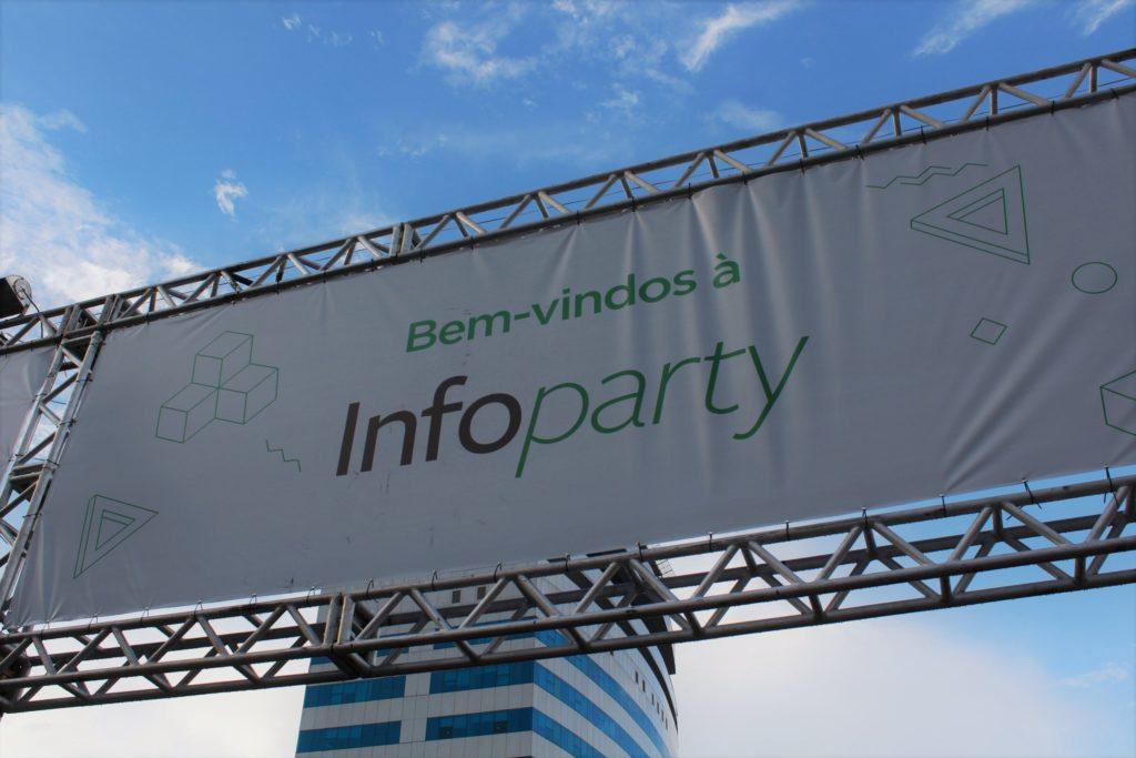 Foto da entrada da Infoparty