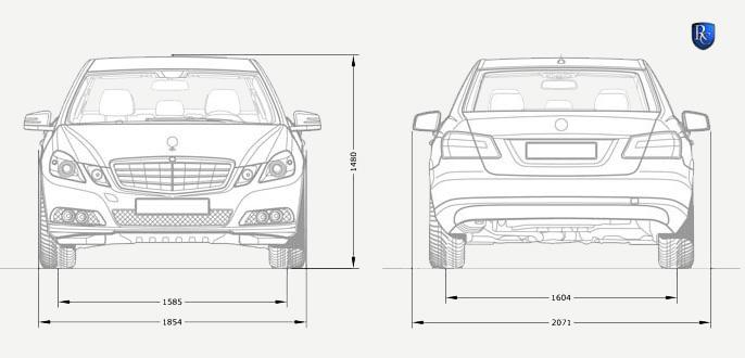 The Remetz Mercedes-Benz E Class Sixdoor