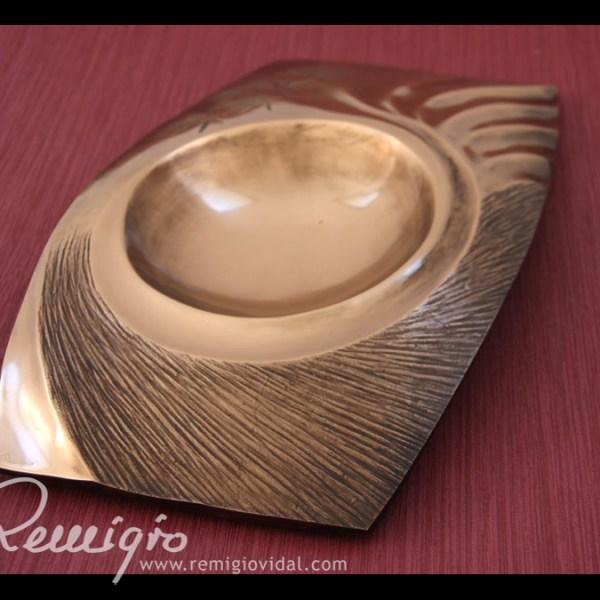 Jardín Japonés - Escultura de fundición en bronce - Escultor Remigio Vidal