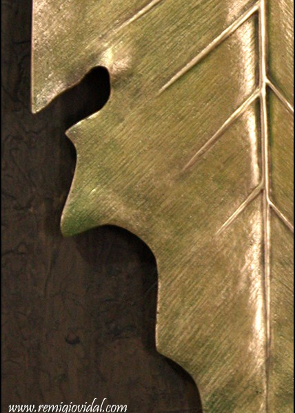 Tardor - Escultura de fundición en bronce - Escultor Remigio Vidal