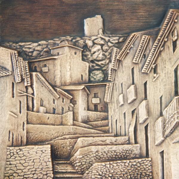 Tronetes - Esculturas de fundición de bronce - Escultor Remigio Vidal 02