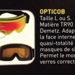 Photo de l'explication dy système Opticob avec zoom sur les tailles et de son fonctionnement