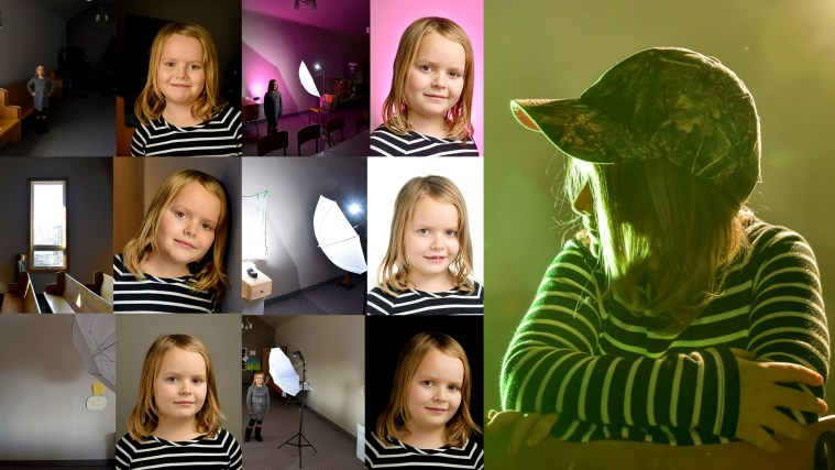 How To Create Portable Portrait Studio On The Go