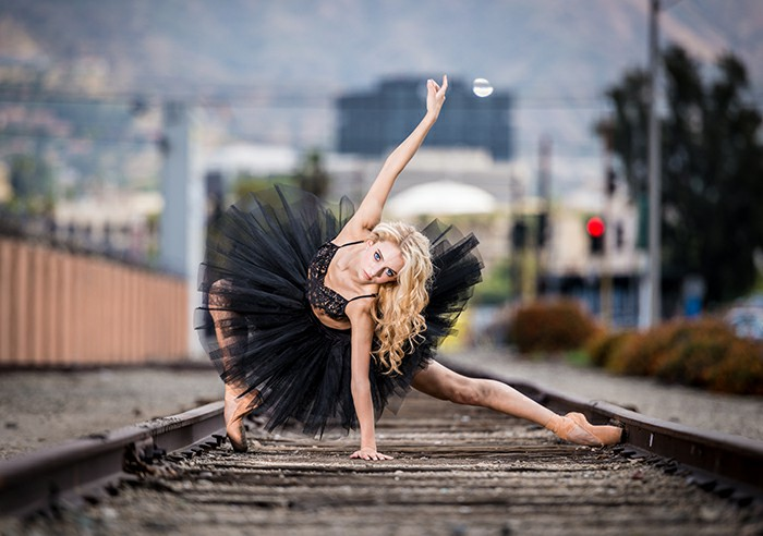 How To Shoot Beautiful Dance Portraits