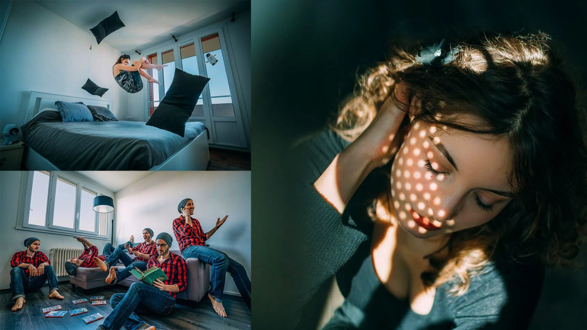 Stuck at Home? Try This 10 Creative DIY Photo Ideas