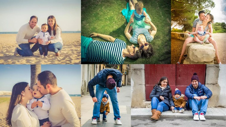 Poses for Photographing Families