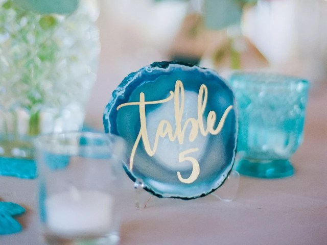 Unique Inspiration To Create Awesome Wedding Table Numbers