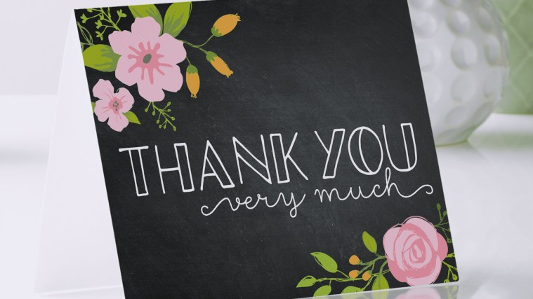 "The New Way To Say ""Thank You"" - Tackle Your Thank-You List With These Handy Helpers"