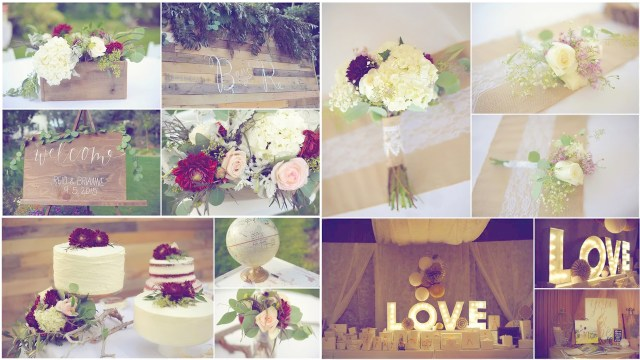 Every Wedding Is A Glamorous Wedding: How To Capture Wedding Décor Details