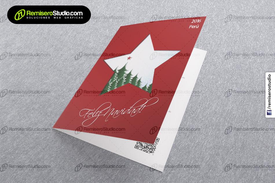 Tarjetas Navideas Corporativas Para Empresas Navidad