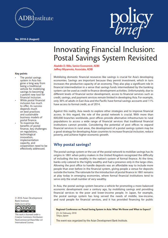 Financial Inclusion Research Paper 2016