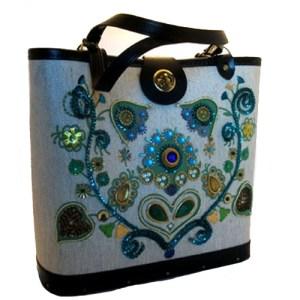 dallas designer glitz bag