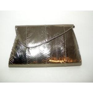 glam metallic clutch bag