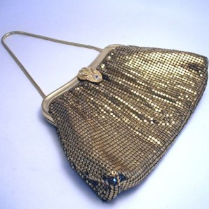 whiting davis mesh disco-the remix vintage fashion