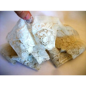 art deco lace - remix vintage fashion