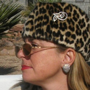 rhinestone clip earring - remix vintage clothing