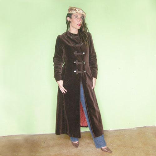 60s coat vintage bloomingdales sargent pepper maxi-The Remix vintage fashion