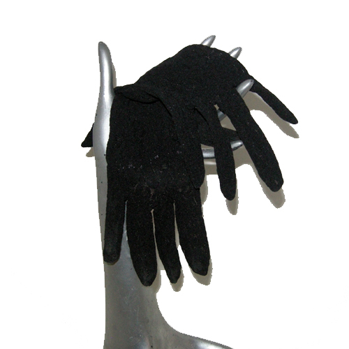 black lace gloves-the remix vintage fashion