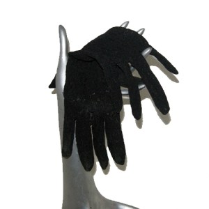 black lace gloves-the remix vintage fashion