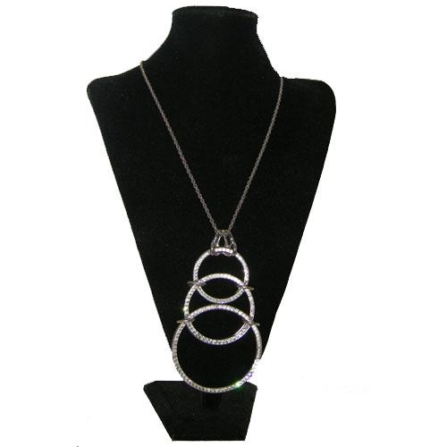 castlecliff tri circle pendant-the remix vintage fashion