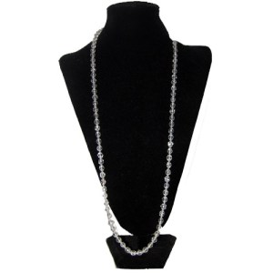 crystal clear necklace-the remix vintage fashion